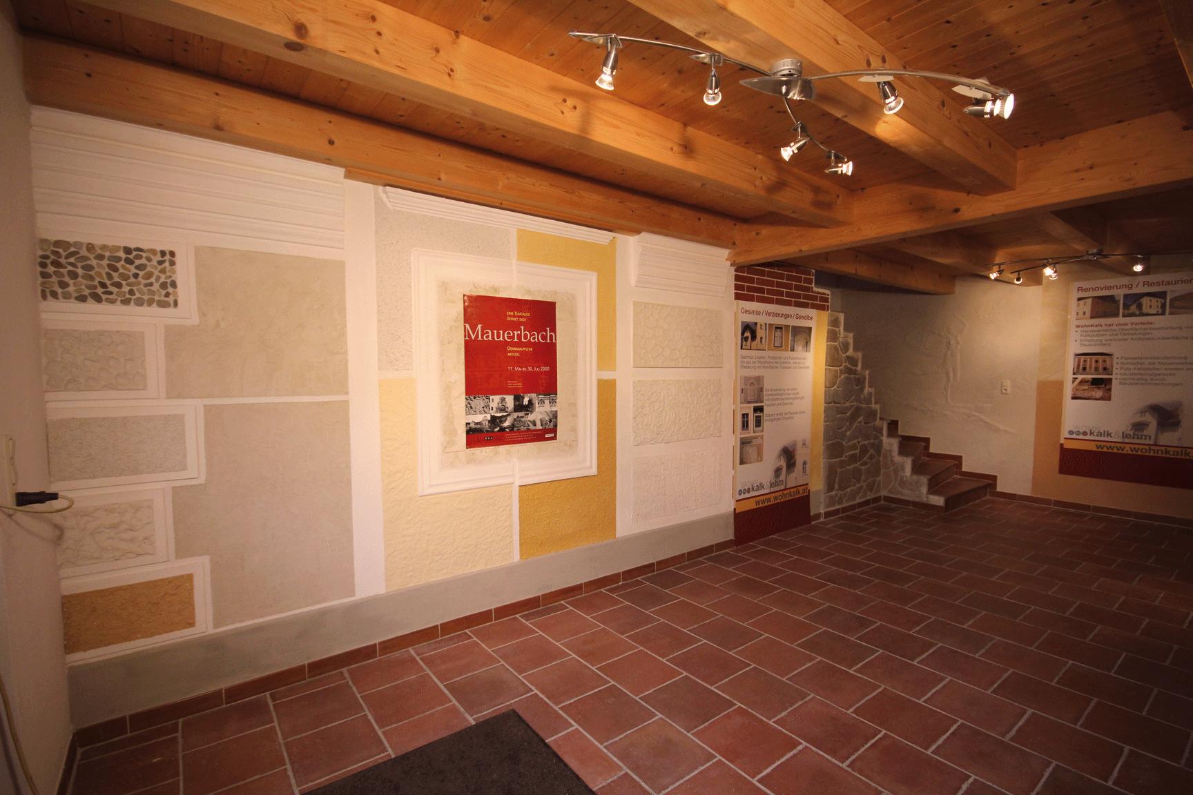 Innen Kalkputz Wohnkalk Wohnlehm Franz Hochholzer In